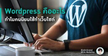 WordPress คืออะไร ทำไมคนจึงนิยมใช้สร้างเว็บไซต์
