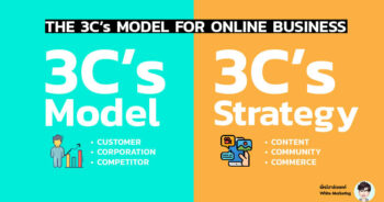 3c's model and 3c's strategy